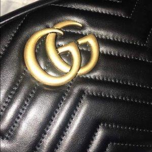 Authentic Small Gucci GG Camera Bag